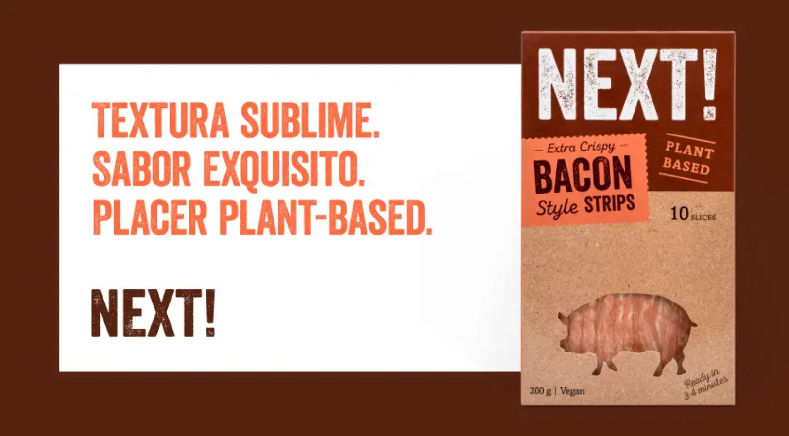 Productos Next! Foods: la alternativa vegetal más sabrosa